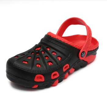 Red and black crocs for women in Nigeria