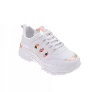 White female sneakers in Nigeria