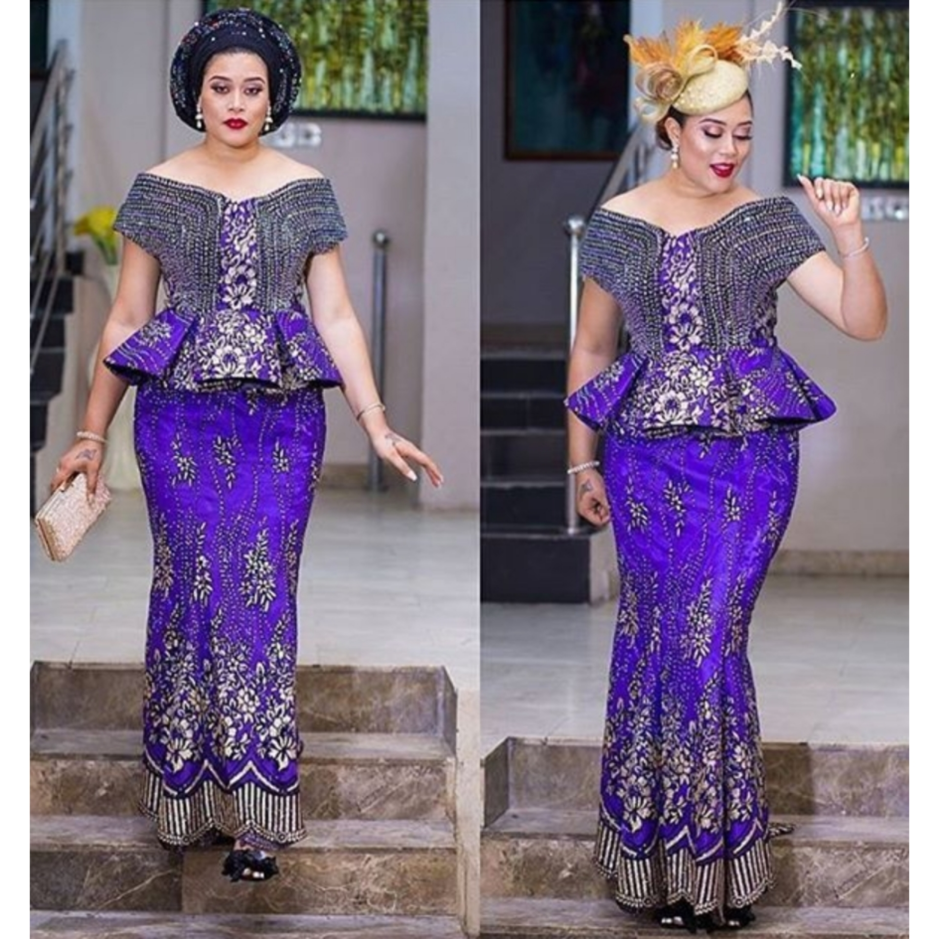 Nigerian lace skirt and blouse   Buy and Slay