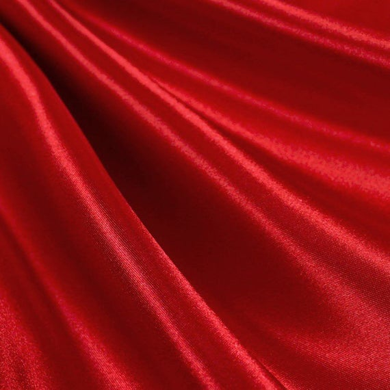 Red Satin Fabric Wholesale
