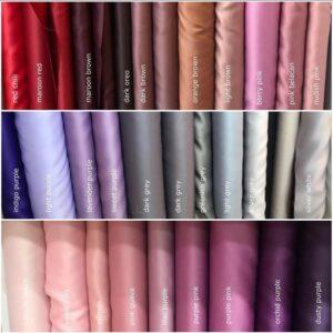 Bridal satin fabric wholesale