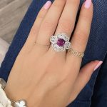 Pink Sapphire Engagement Ring Meaning